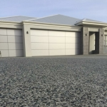 All Class Concrete: Exposed Aggregate in Bluegum