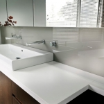 Direct Glass: Coloured Glass Splashback and Mirrors