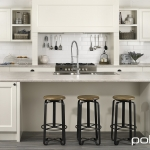 Polytec: Thermolaminated 18mm Keimbah Doors: Porcelain Matt. Benchtop: Pietra Stone Matt