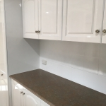 Unique Renovation Spraypainting: After Cupboard and Tile Spray Painting