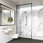 Mr Wet Wall: Linda Barker Collection Calacatta Marble