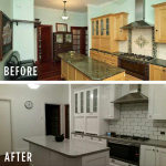 Unique Renovation Spraypainting: Before and After