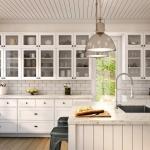 The Kitchen Door Company: White Satin Doors Laminex