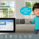 Smart Air Conditioning – Rollover:  Control the climate.