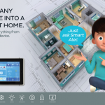 Smart Home – Rollover:  Save energy and the planet.
