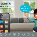 Smart Lighting – Rollover:  Control your lights.
