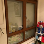 ARCO Double Glazing: Tilt and Turn Window in Golden Oak