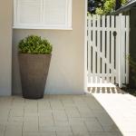 Midland Brick: Boulevard Granite Pavers - Chalk