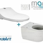 Seren-Bidet: Maro D'Italia Bidet Toilet Seat Maro DI600 Duravit Darling Combo