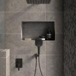 Oliveri Solutions: Shower Rose, Bracket Shower and Mixer with Diverter
