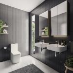 Oliveri Solutions: Paris Taps, Dublin Basin and Munich Toilet