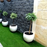 The Landscape Guys: Synthetic Grass (Side of House)