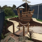 The Landscape Guys: Nature Playground Pirate Ship