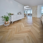 Access Timber Flooring: European Oak in Herringbone Pattern