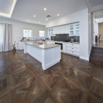 Access Timber Flooring: Marri in Versaille Pattern Stained