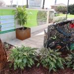 Soil Solver: Display Featuring Garden Solutions and Martin Jaine Sculptures