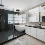 Trager Kitchens and Interiors: Elizabeth Street Bathroom Renovation