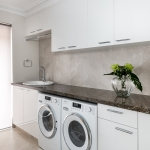 Trager Kitchens and Interiors: Elizabeth Street Laundry Renovation